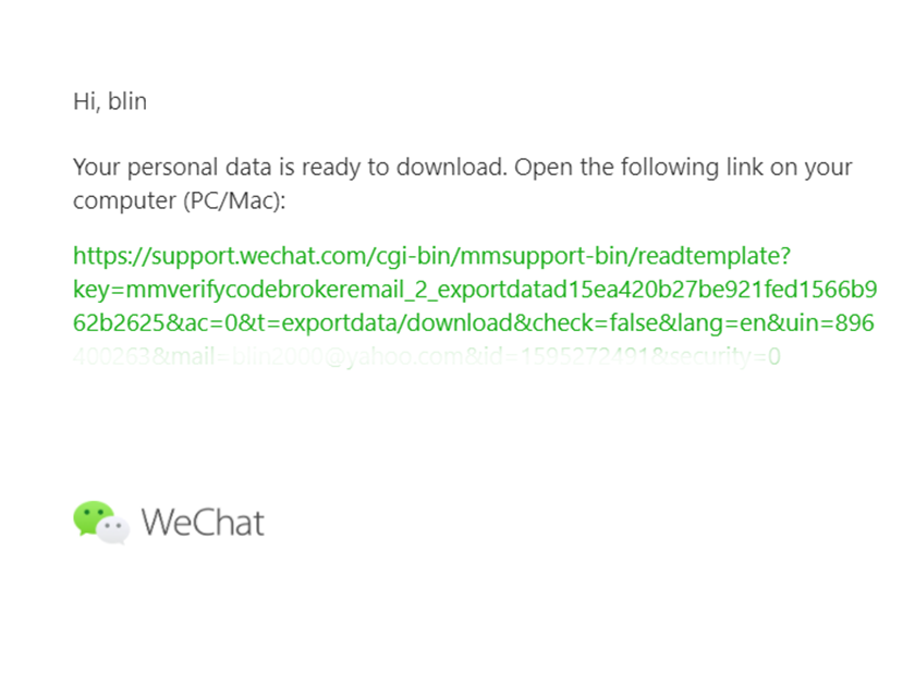 Computer again try connection on wechat error 4 ways