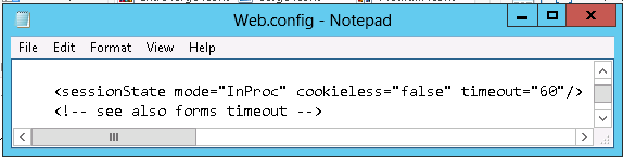 How can we modify the Remote Web Access session timeout - Step by