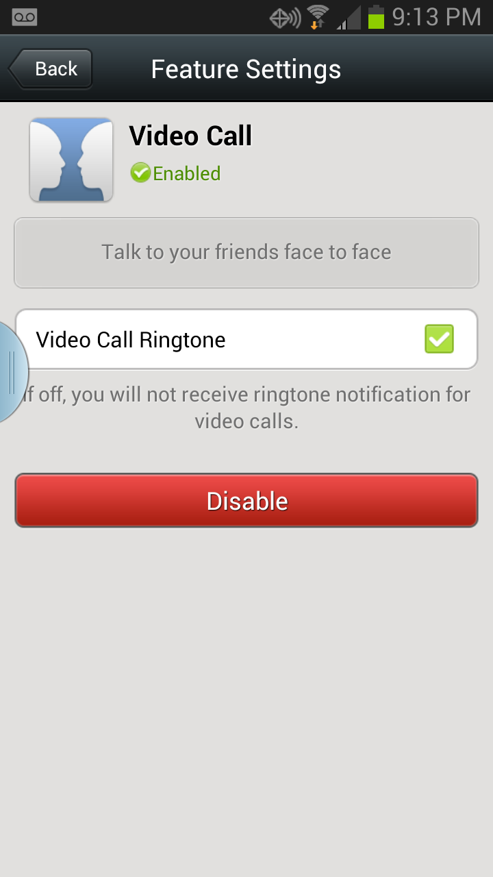 How to enable/disable Voice Call on Wechat - Step by step