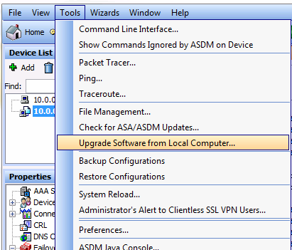How to upgrade ISO on Cisco ASA - Step by step with screenshots