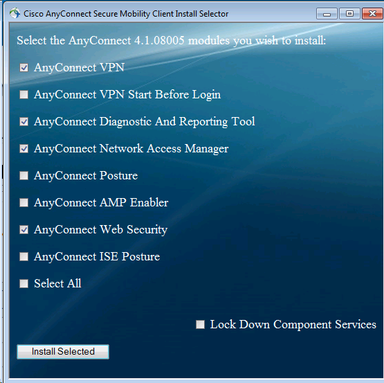How to install Cisco AnyConnect Client - Step by step with