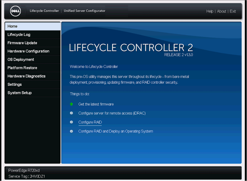 How to install OS using Lifecycle Controller in Dell Server