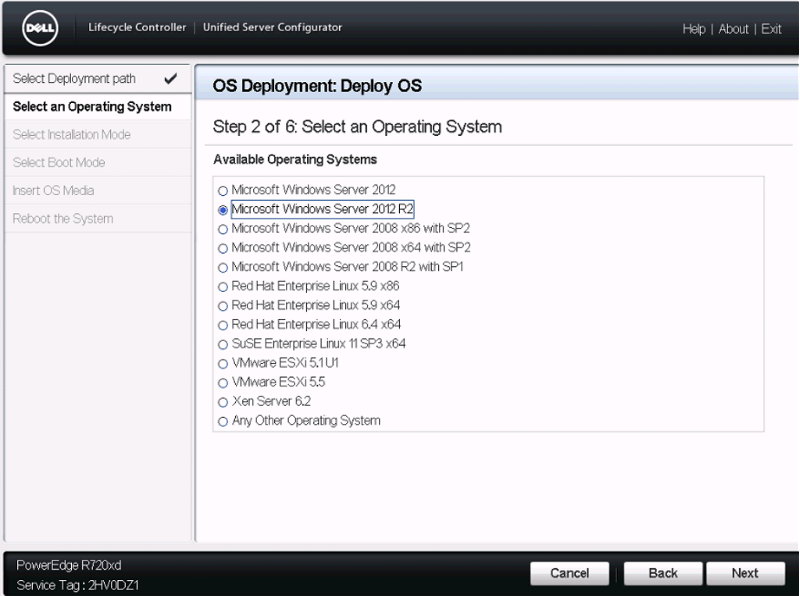 How to install OS using Lifecycle Controller in Dell Server - Step