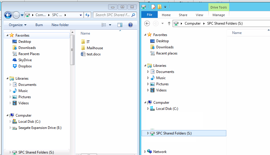 Subfolder in DFS root is empty - Resolution with screenshots