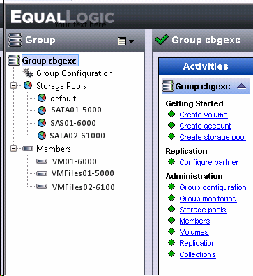 How To Add A New Equallogic San Group Step By With Screenshots