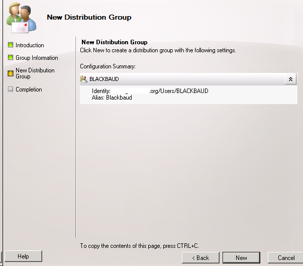 how to create a email distribution group in outlook 2010