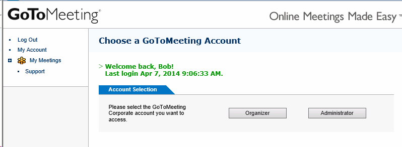 Gotomeeting Login