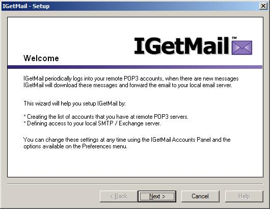 How to configure IGetMail - Step by step with screenshots