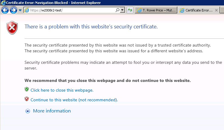 How To Install Self Signed Certificate In Ie 11 Step By Step With