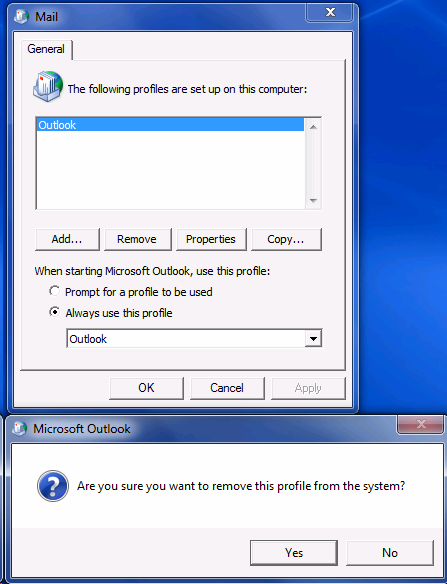 manually configure outlook 2007 for office 365
