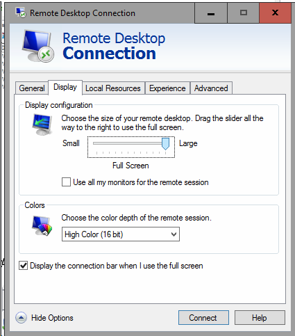 Requested session denied Remote Control- Resolution with screenshots