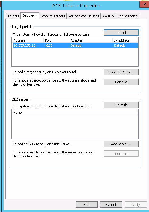 How to remove iSCSI volume from Windows Server 2012 R2