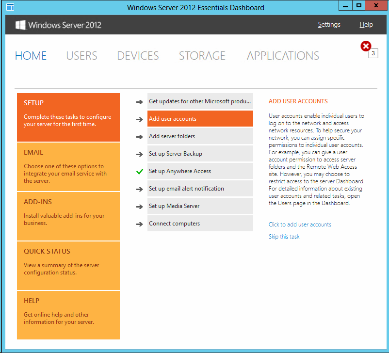 how to add user account in windows server 2008
