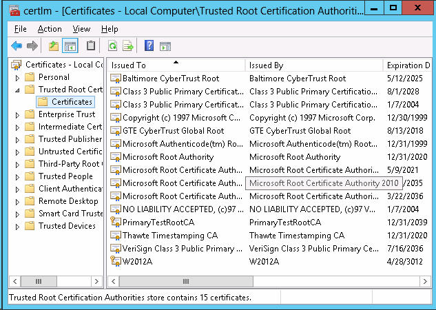 How to create Self-signed Certificates for Hyper-V Replica - Step