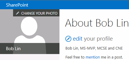 how to change profille photos