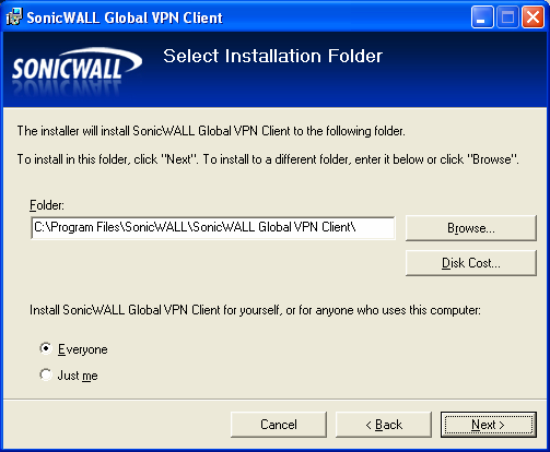 How to install SonicWALL Global VPN Client - - Step by step with