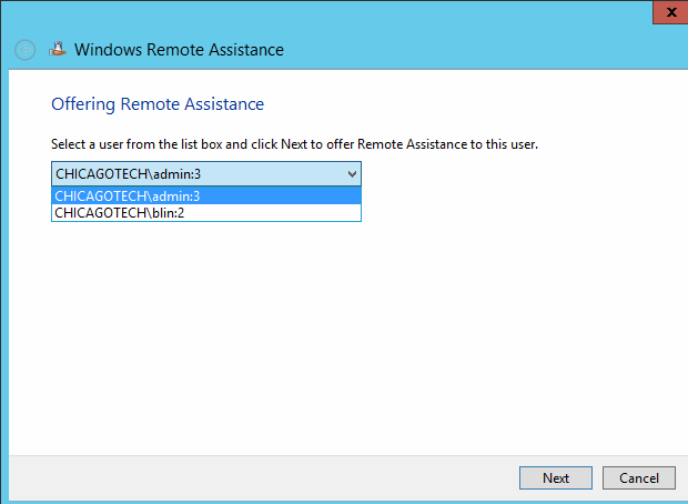 how to help someone remotely windows 8