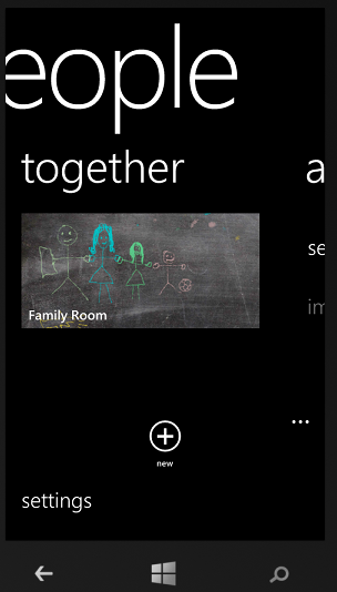 how to set up the family room or group on windows phone 8 step by step with screenshots. Black Bedroom Furniture Sets. Home Design Ideas